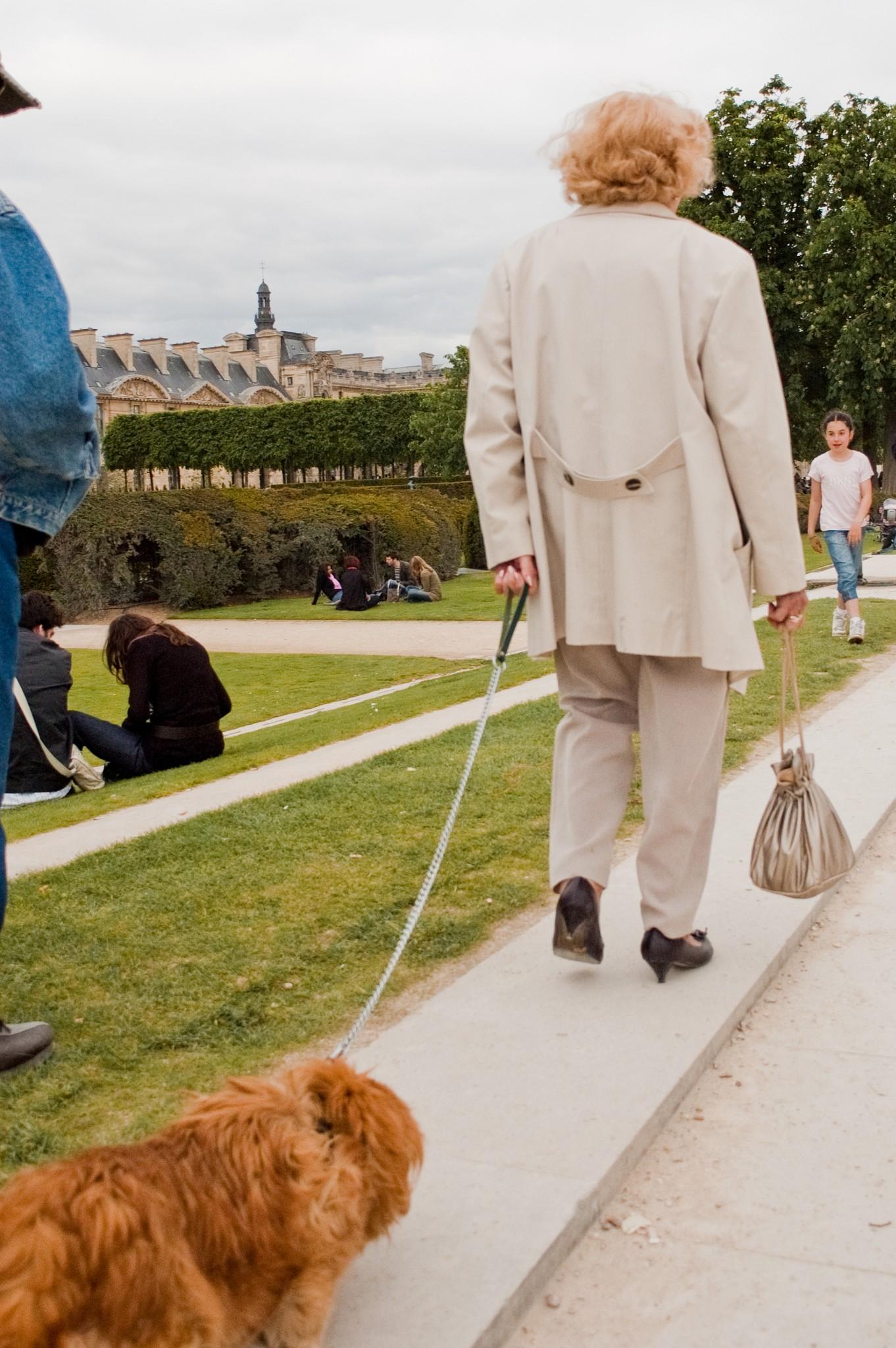 Jardin des Tuileries, Paris, Mai 2009