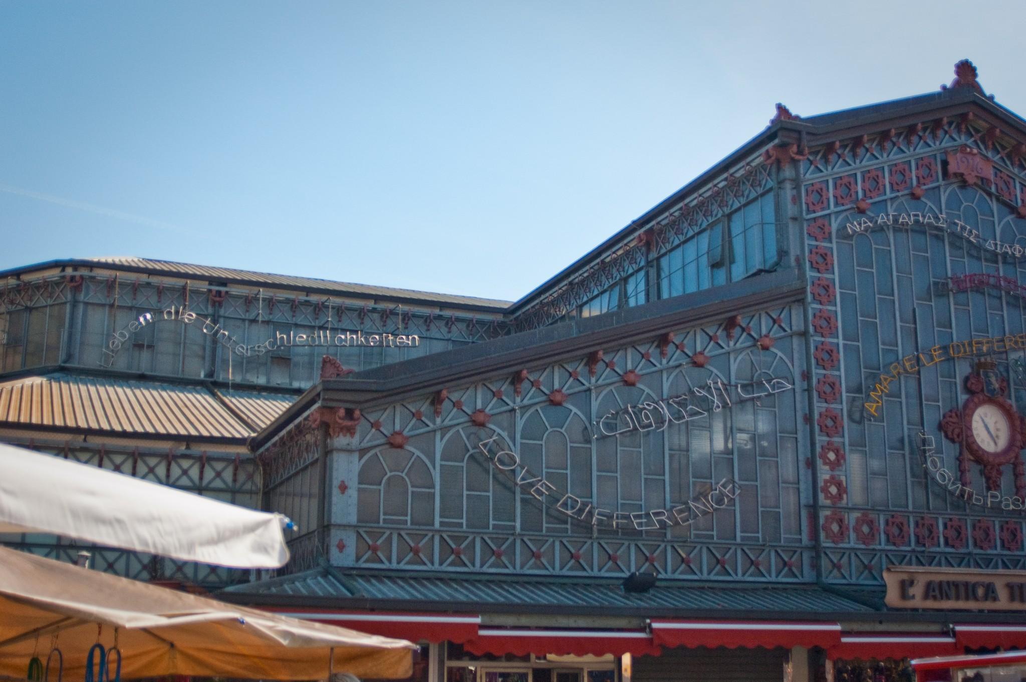 Mercato di Porta Palazzo, Turin, April 2010